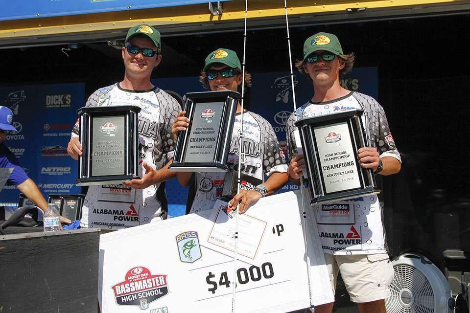 Morris & Smith Win Mossy Oak Fishing BASSMASTER High School Series National Championship