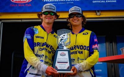 Briarwood's Christian Tucker Smith & Grayson Morris win back-to-back High School Championships!!