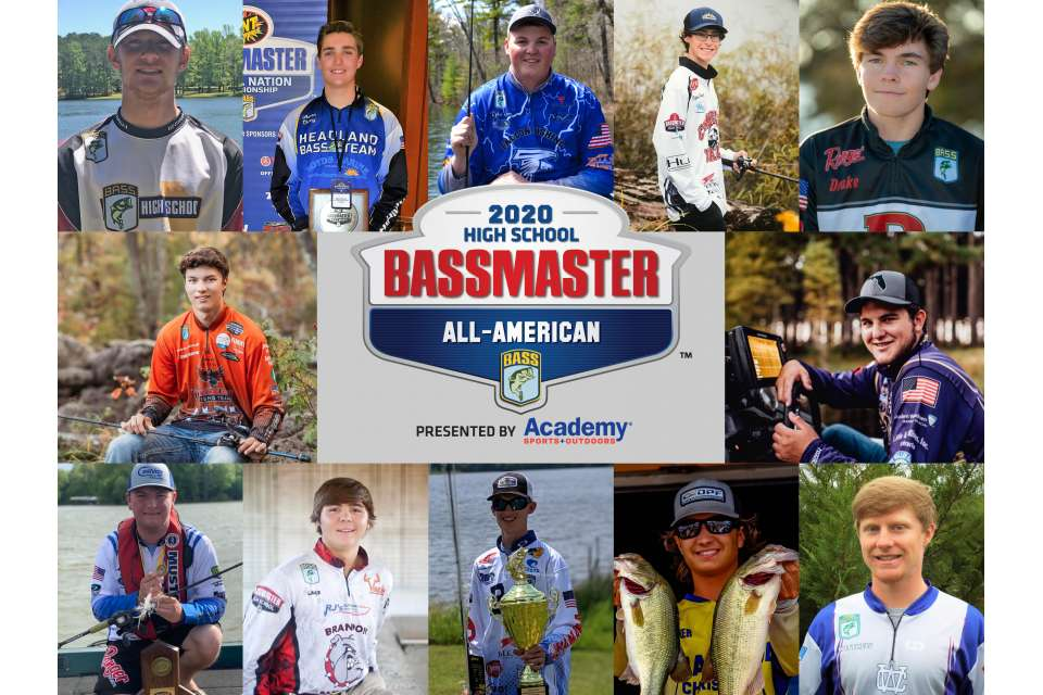 Alabama Well Represented with Two Members in the 2020 Bassmaster High School All-American Team